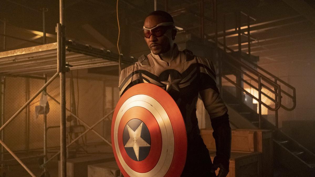 Captain America Sam Wilson Anthony Mackie