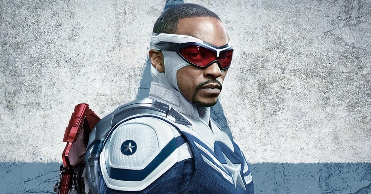 Captain America Sam Wilson Anthony Mackie The Falcon and the Winter Soldier