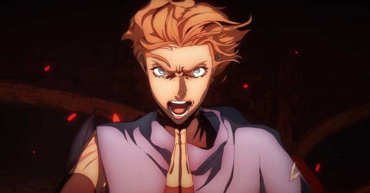 Castlevania Season 4 Sypha Netflix Anime