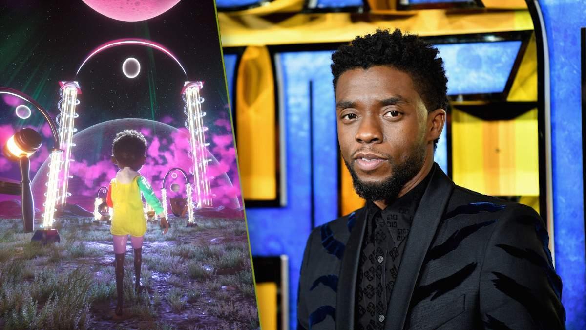 Chadwick Boseman NFT Tribute Art Oscars Redesign
