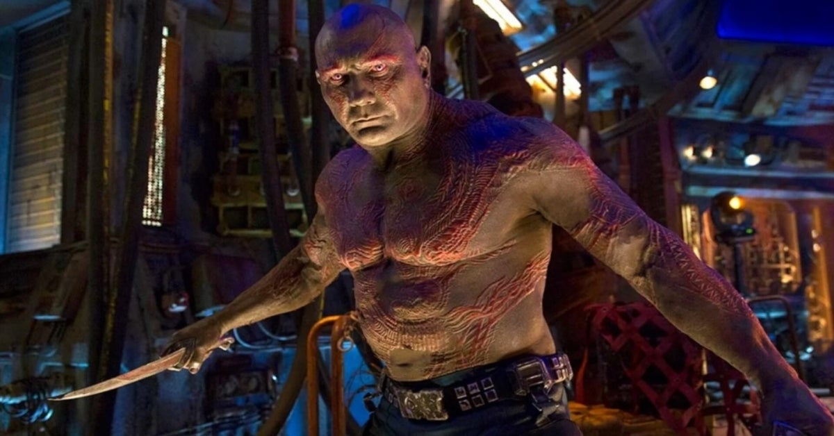 Dave Bautista Guardians of the Galaxy Drax