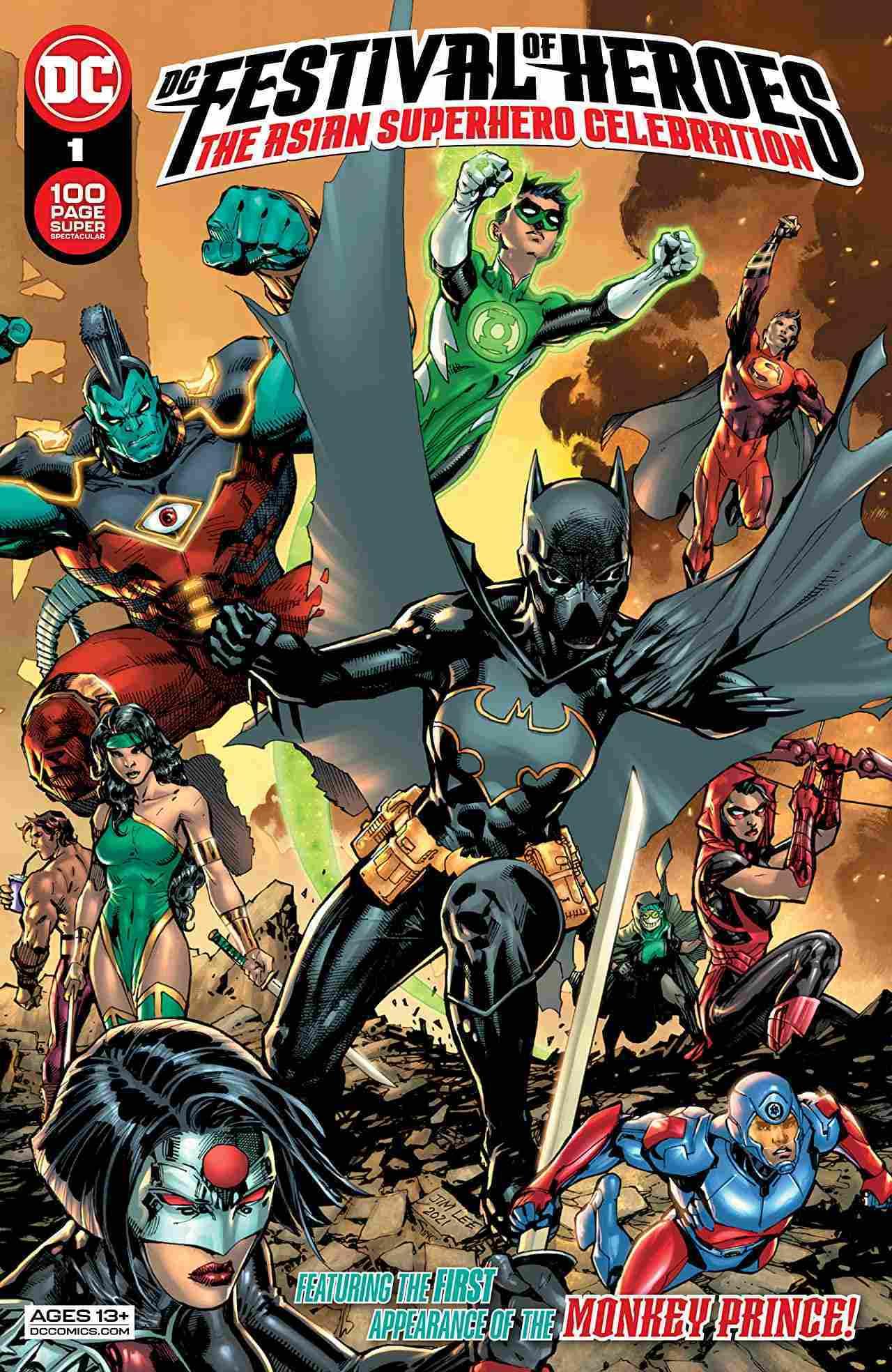 DC Festival of Heroes The Asian Superhero Celebration #1