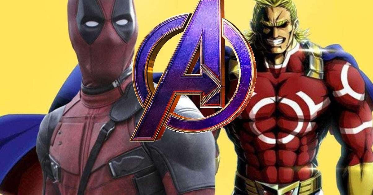 Deadpool Manga Avengers