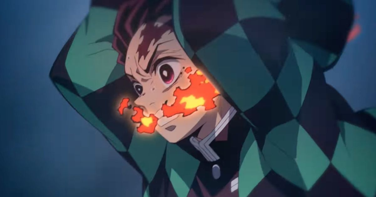 Demon Slayer_ Mugen Train Tanjiro Flame Breathing