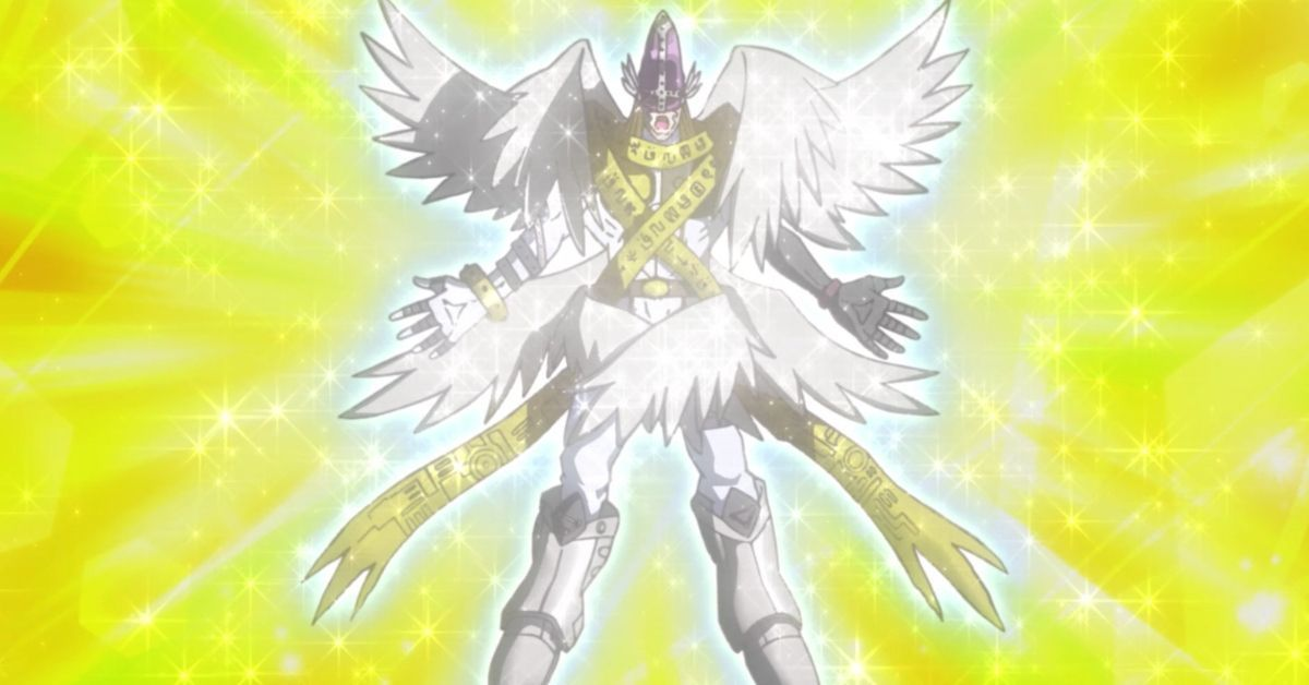 Digimon Adventure Reboot HolyAngemon