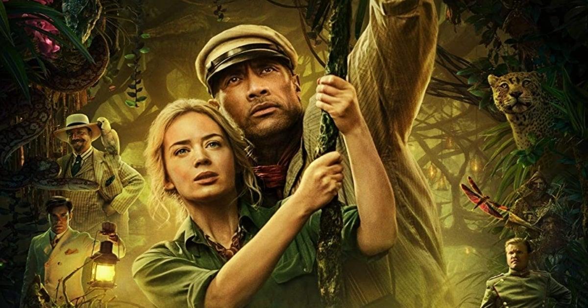 Disney Jungle Cruise Dwayne Johnson Emily Blunt
