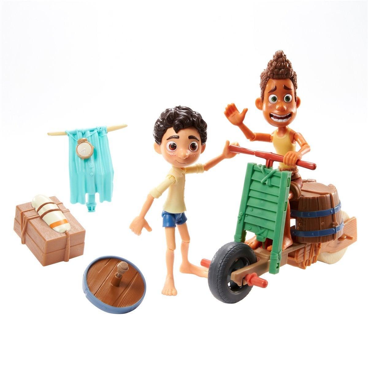 Disney Pixar Luca Scooter Build & Crash Pack (GXK62)