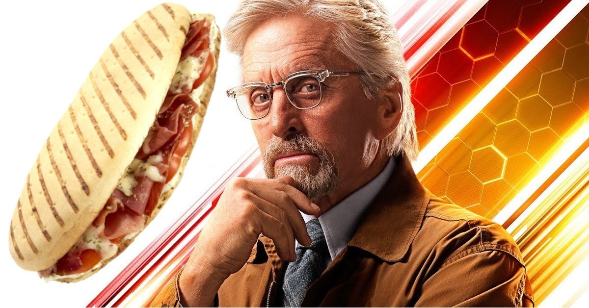 Disneyland Avengers Campus Giant Quantum Sized Pymini Sandwich 100 Dollars