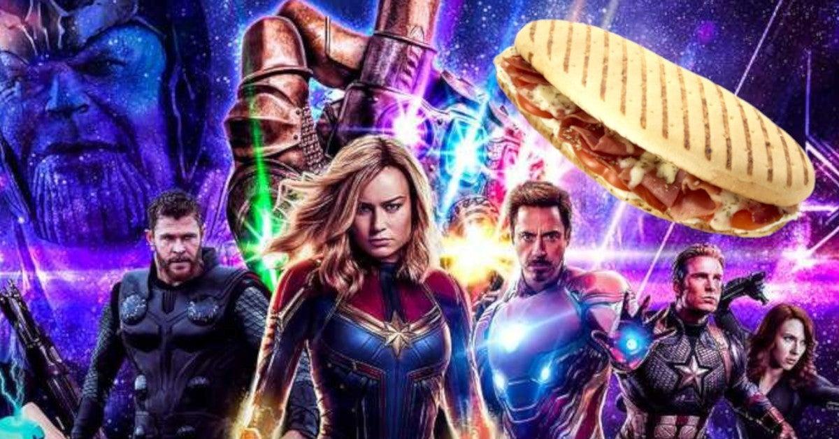Disneyland Avengers Campus Giant Quantum Sized Pymini Sandwich