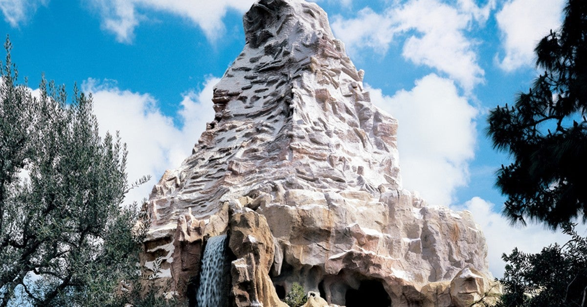 Disneyland-Matterhorn