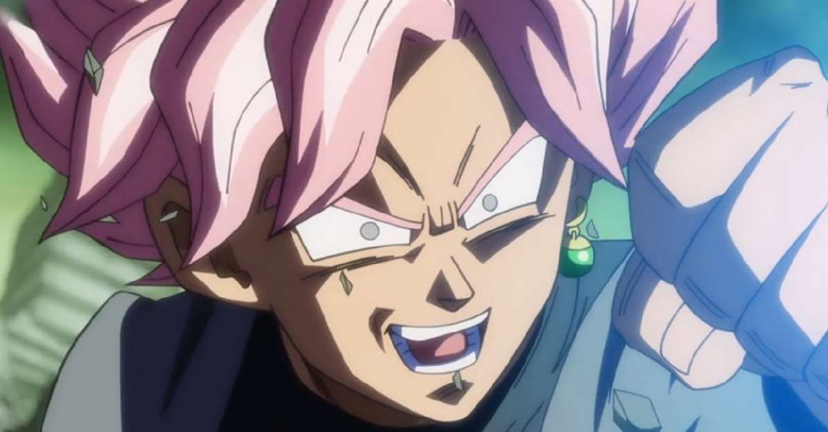 Dragon Ball Goku Black Super Saiyan