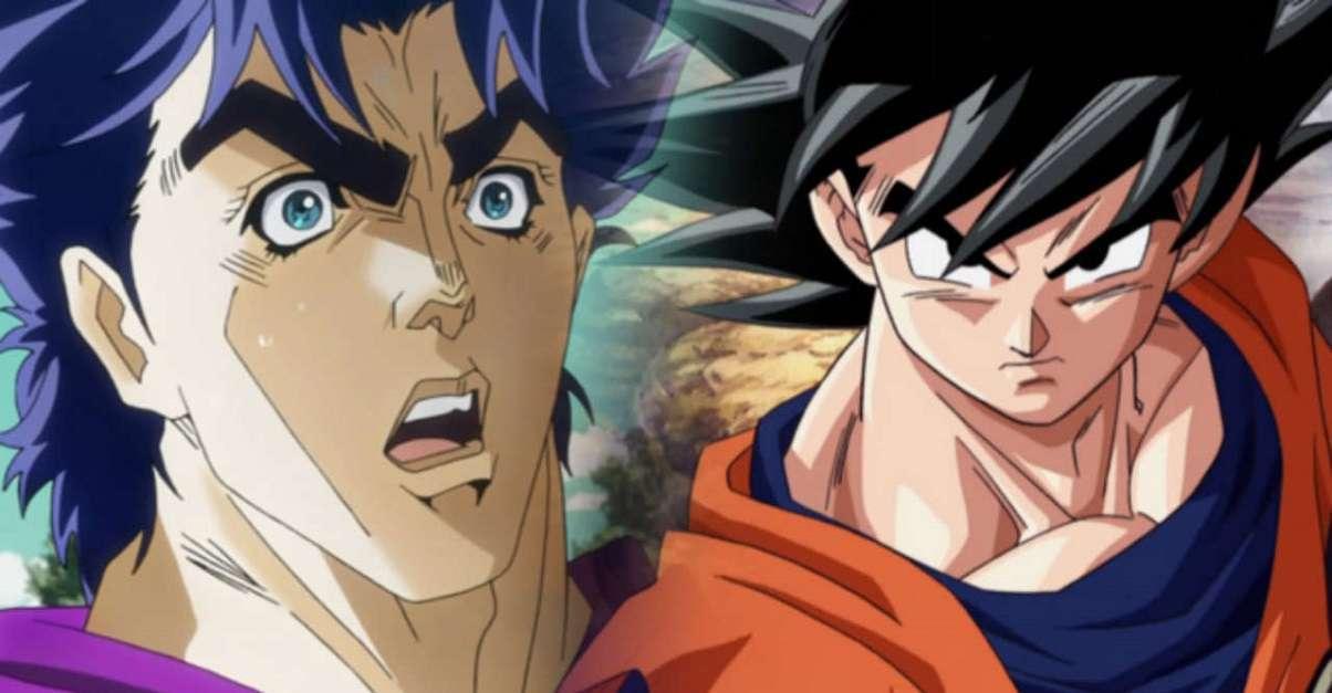 Dragon Ball Goku JoJo