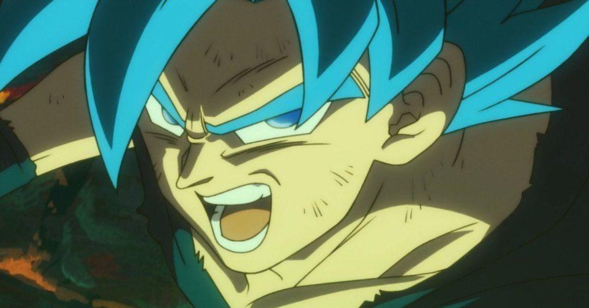 Dragon Ball Super Broly Goku SSB