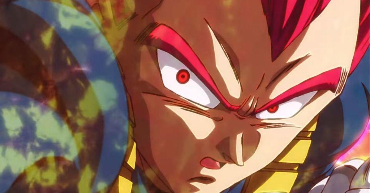 Dragon Ball Super Broly SSG Vegeta