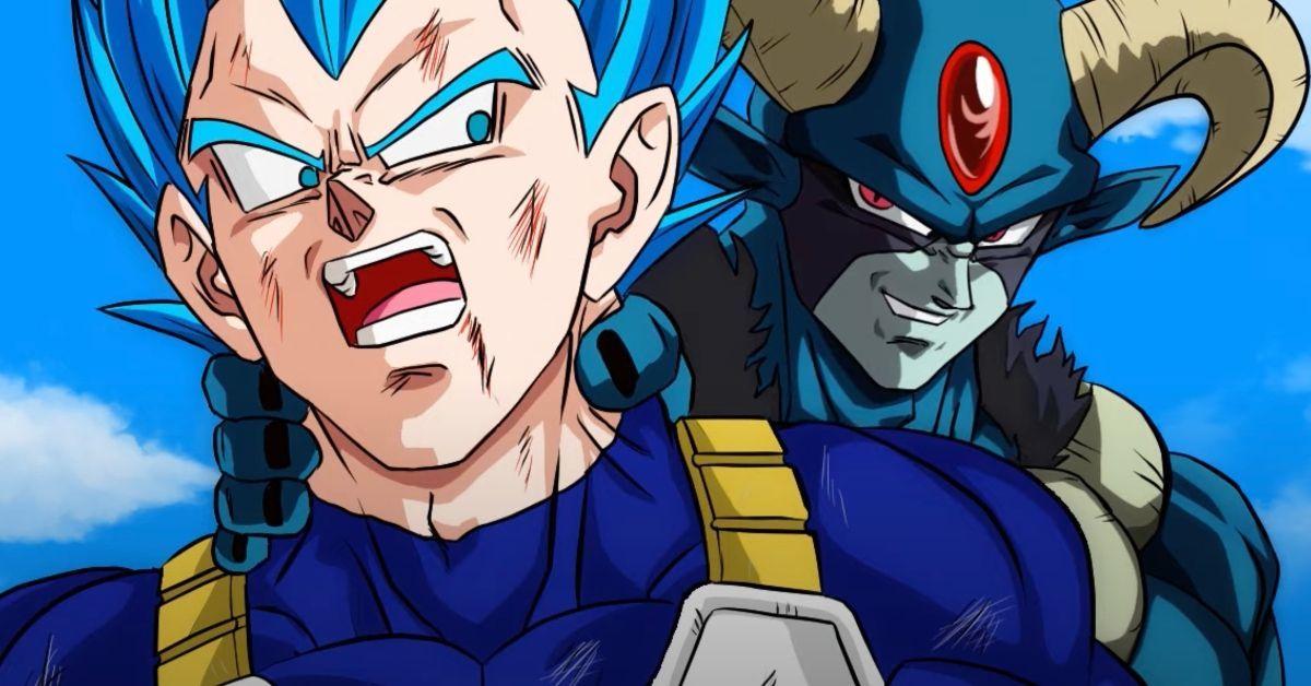 Dragon Ball Super New Anime Vegeta Moro Fight Animation