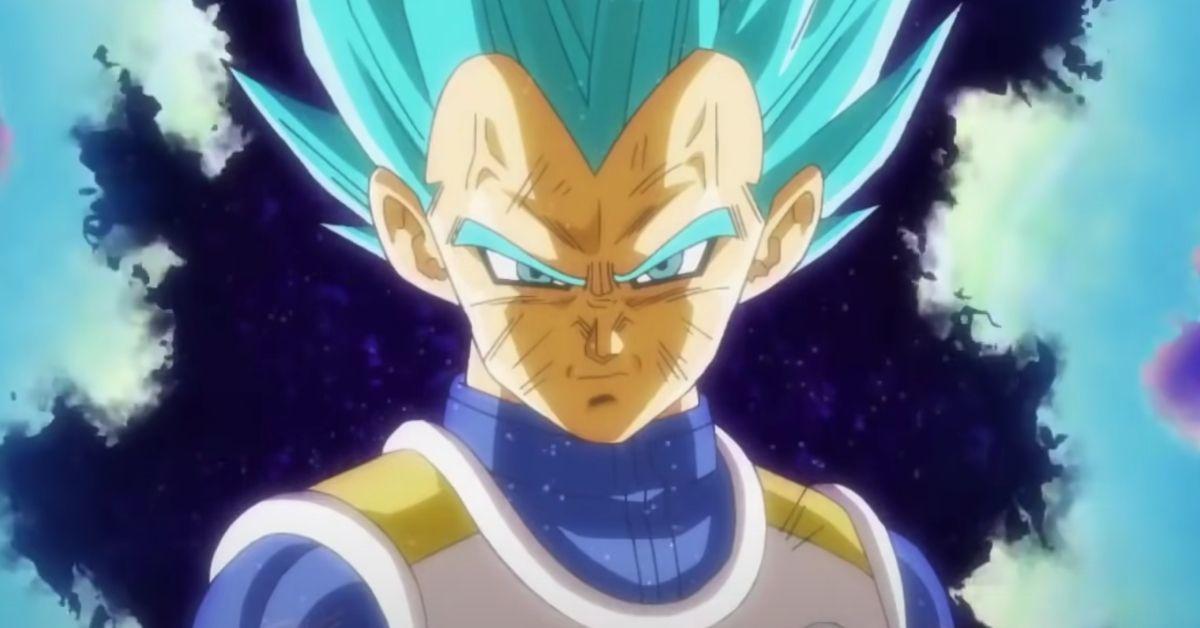 Dragon Ball Vegeta New Form Super Saiyan Blue Evil Saiyan