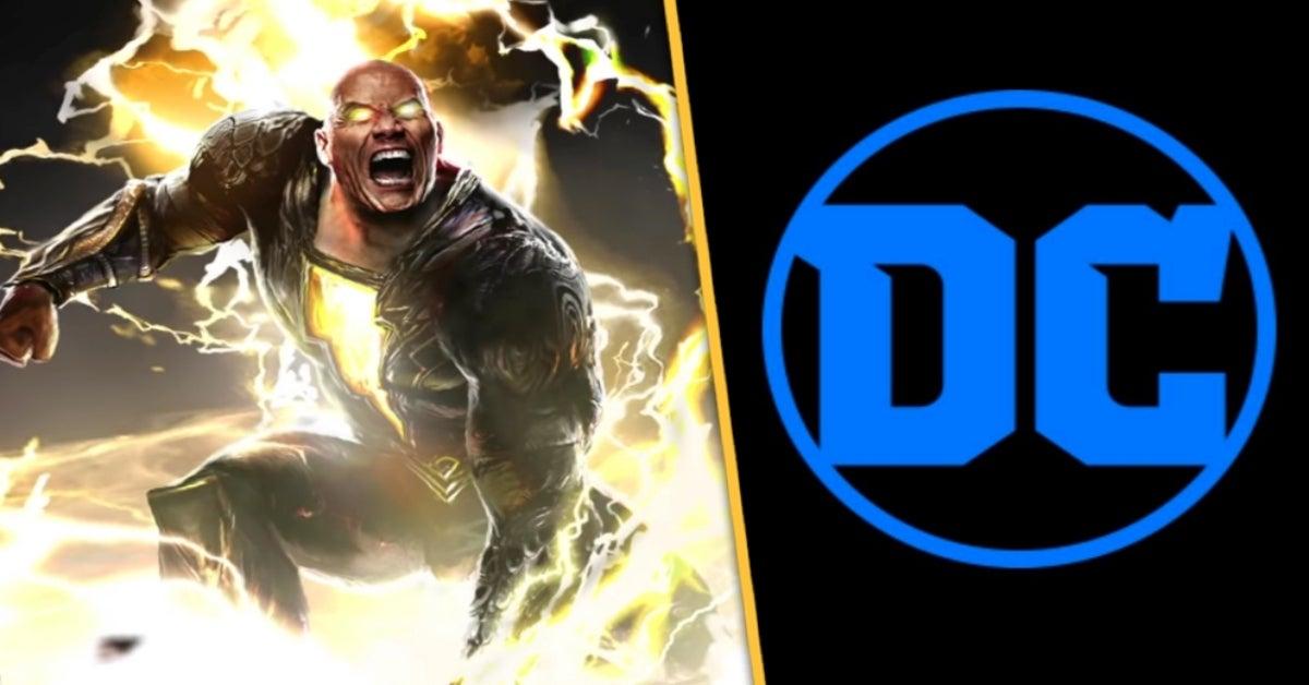 Dwayne Johnson Black Adam DC Films