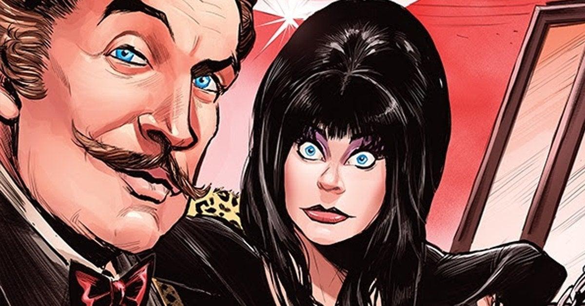 elvira vincent price comic book crossover