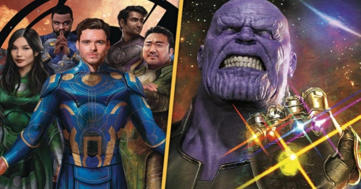 Eternals Thanos Marvel Studios comicbookcom