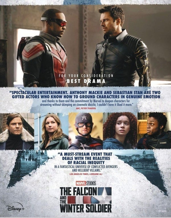 falcon winter soldier emmy awards