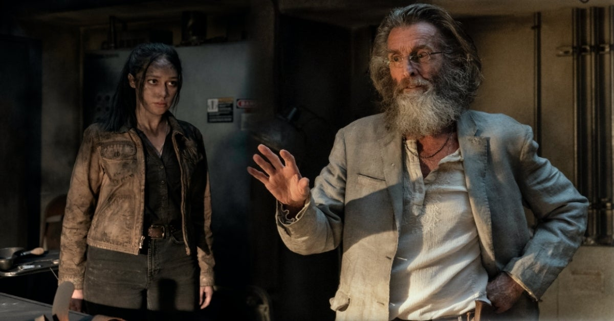 Fear the Walking Dead John Glover Teddy Alicia Alycia Debnam-Carey