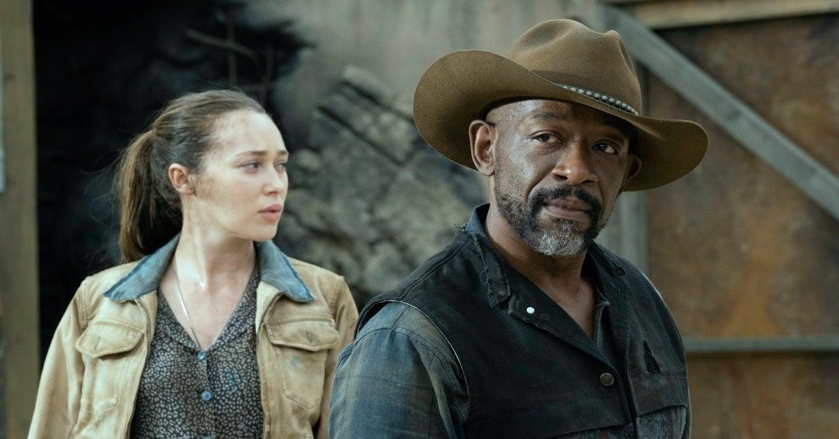 Fear the Walking Dead Season 6 Lennie James Alycia Debnam-Carey