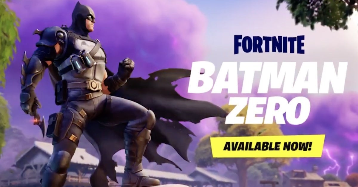 fortnite batman zero skin
