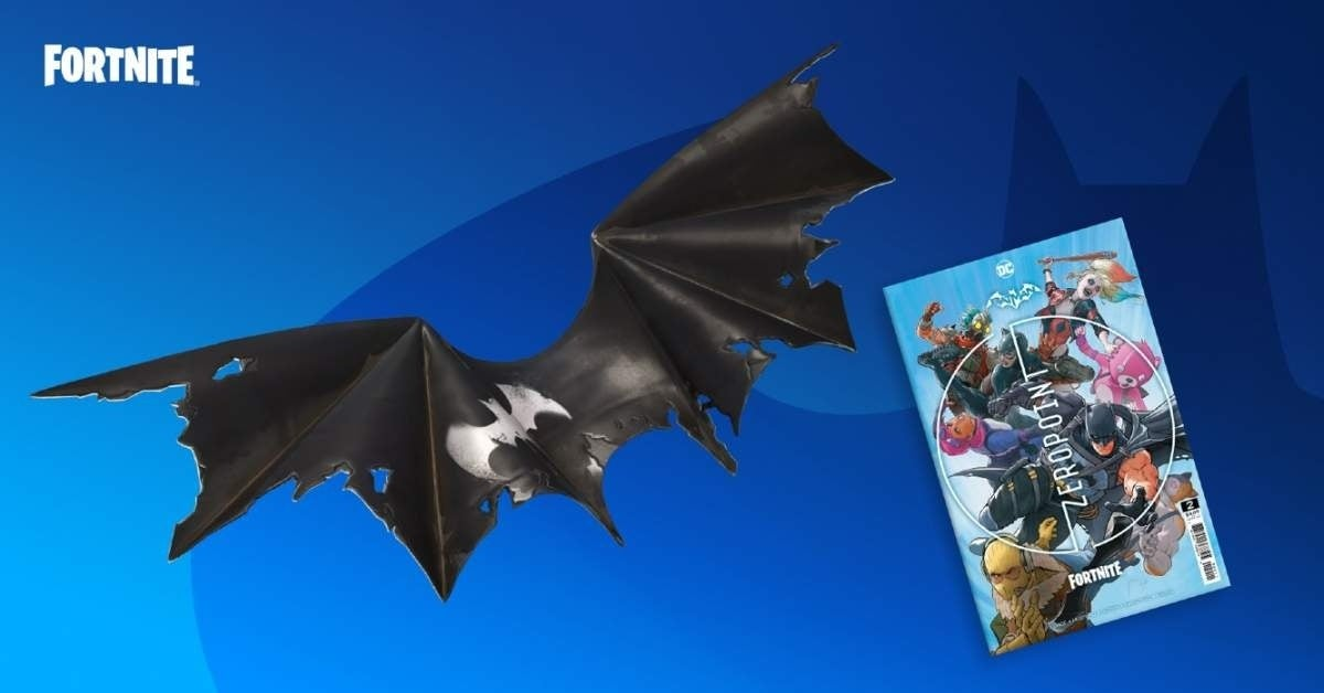 fortnite batman zero wing glider
