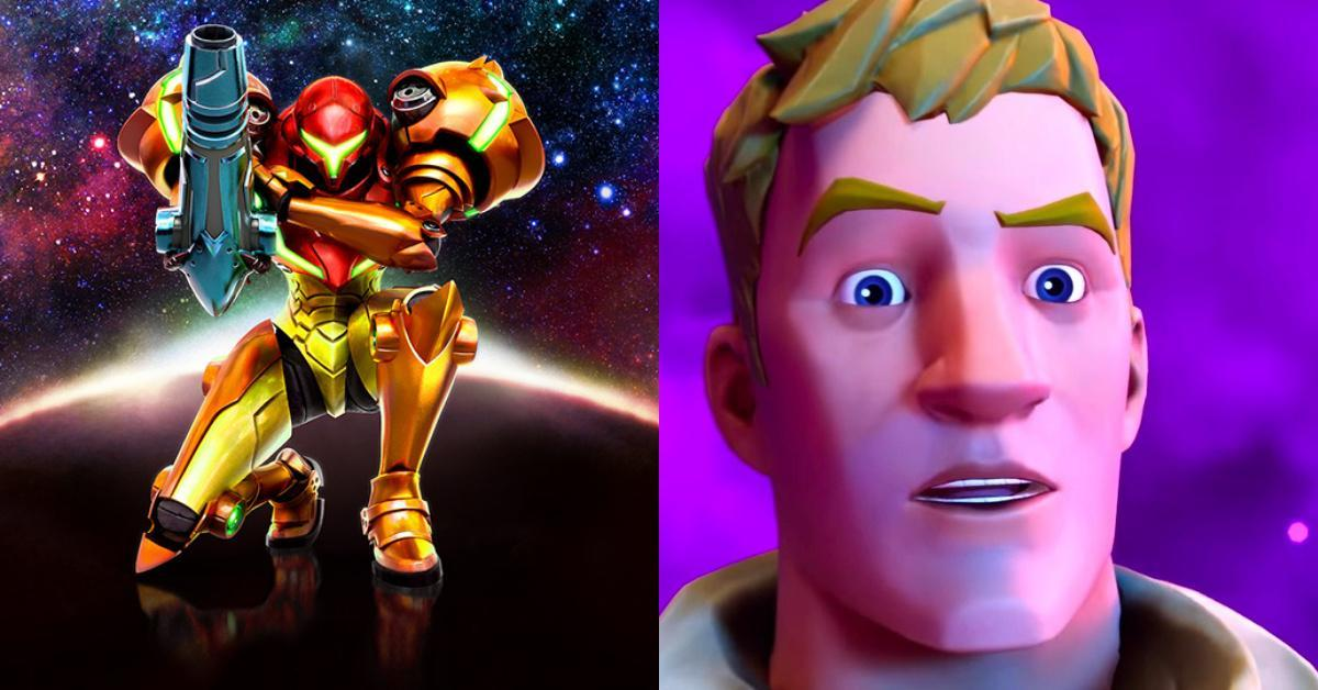 Fortnite Metroid