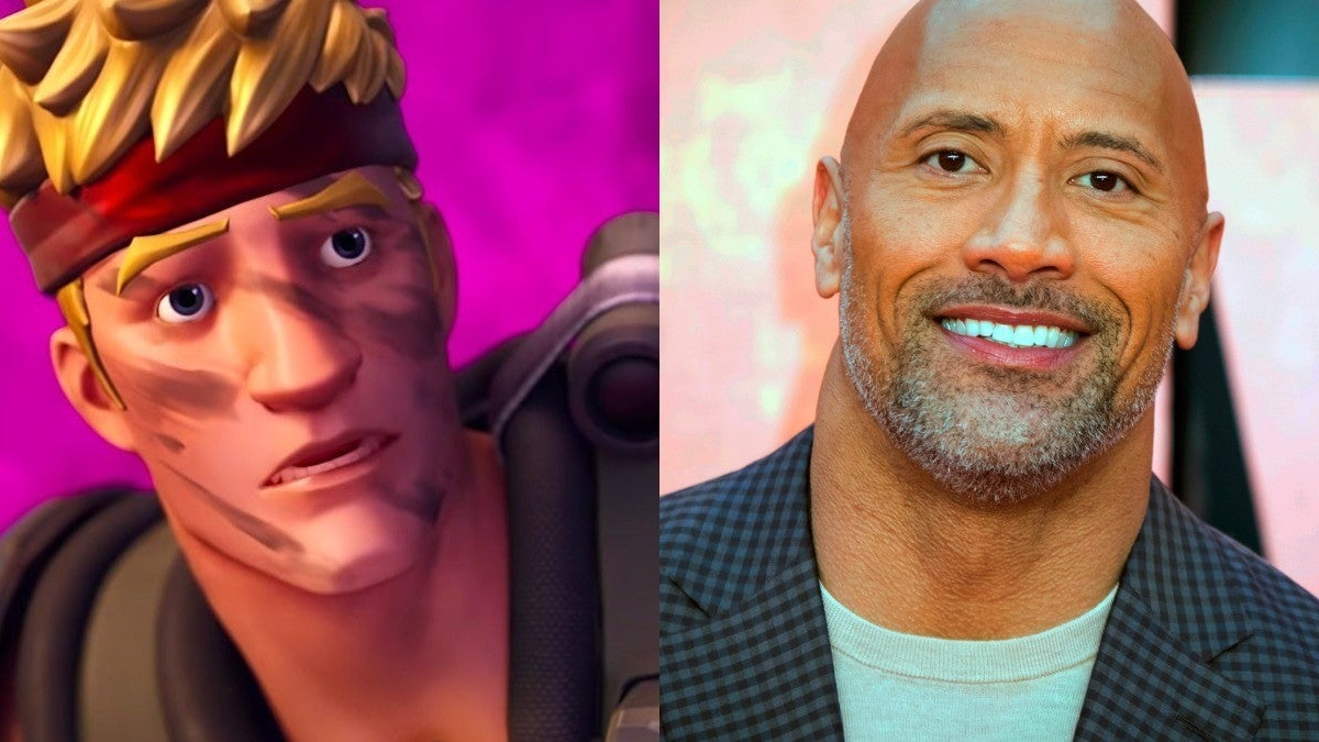Fortnite The Rock