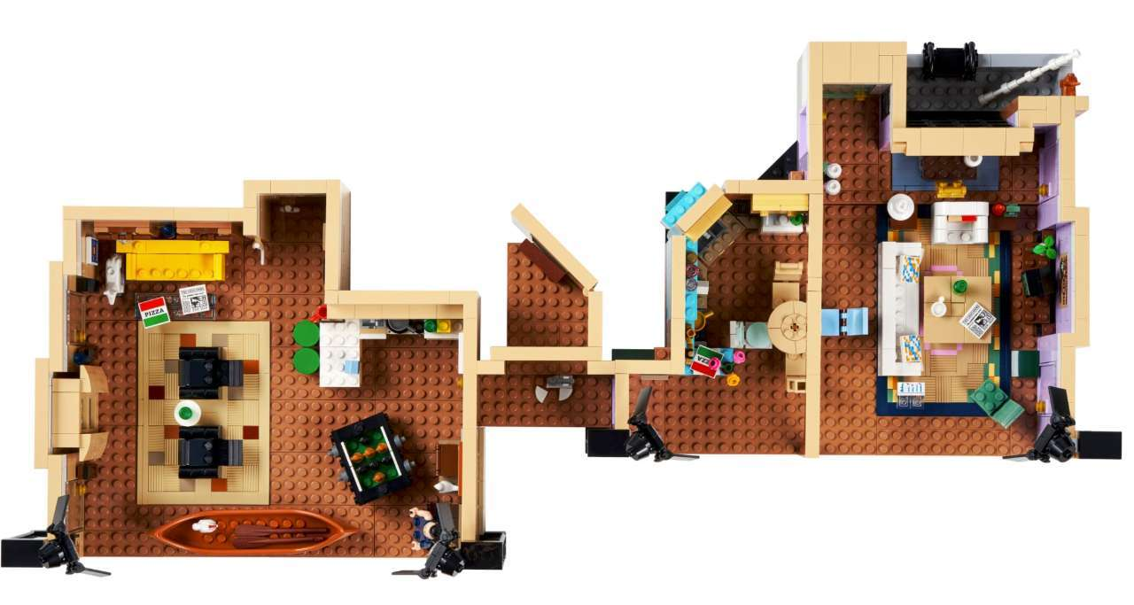 Friends Apartments LEGO 2021-05-11 at 110913 AM