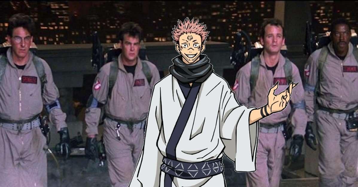 Ghostbusters Jujutsu Kaisen