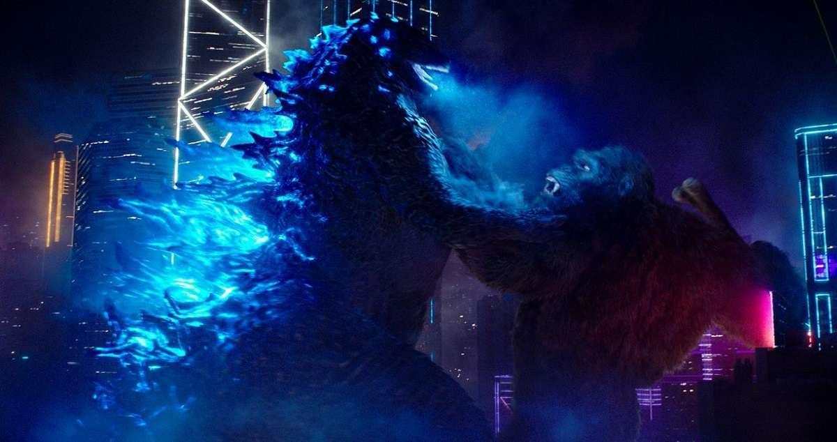 Godzilla vs Kong Diorama
