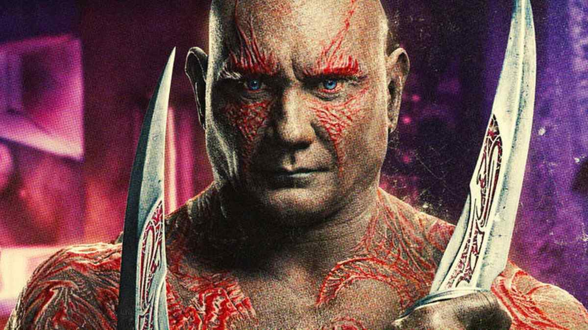 Guardians of the Galaxy Drax Dave Bautista