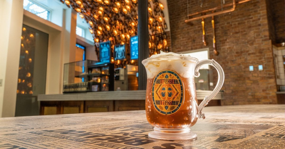harry potter new york butterbeer bar