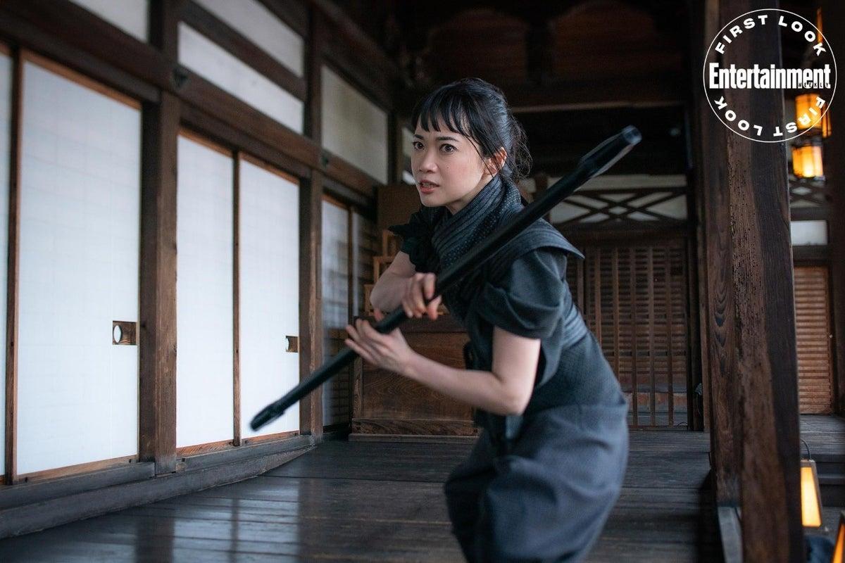 Haruka Abe as Akiko in Snake Eyes Movie