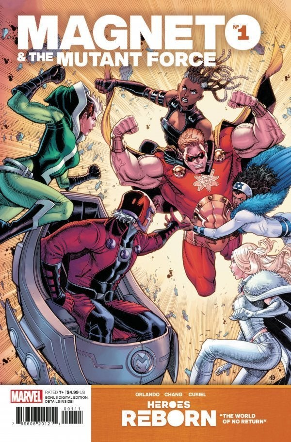 Heroes Reborn Magneto & the Mutant Force #1