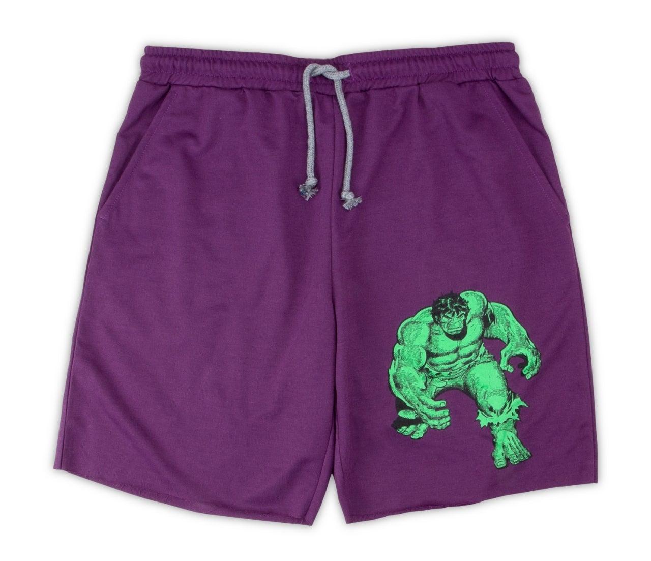 incredible hulk lounge shorts