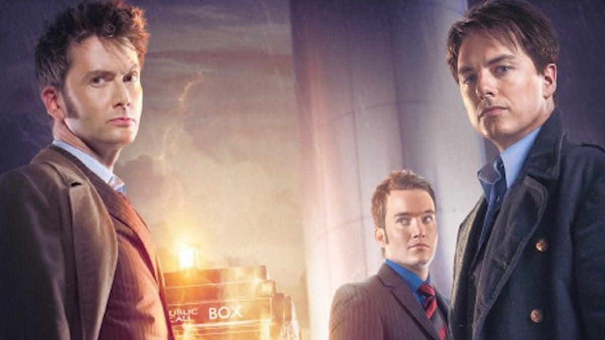 John Barrowman David Tennant Reunion Torchwood Absent Friends Cancelled Doctor Who