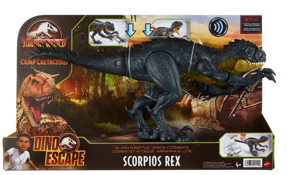 Jurassic Scorpios Rex Packaging