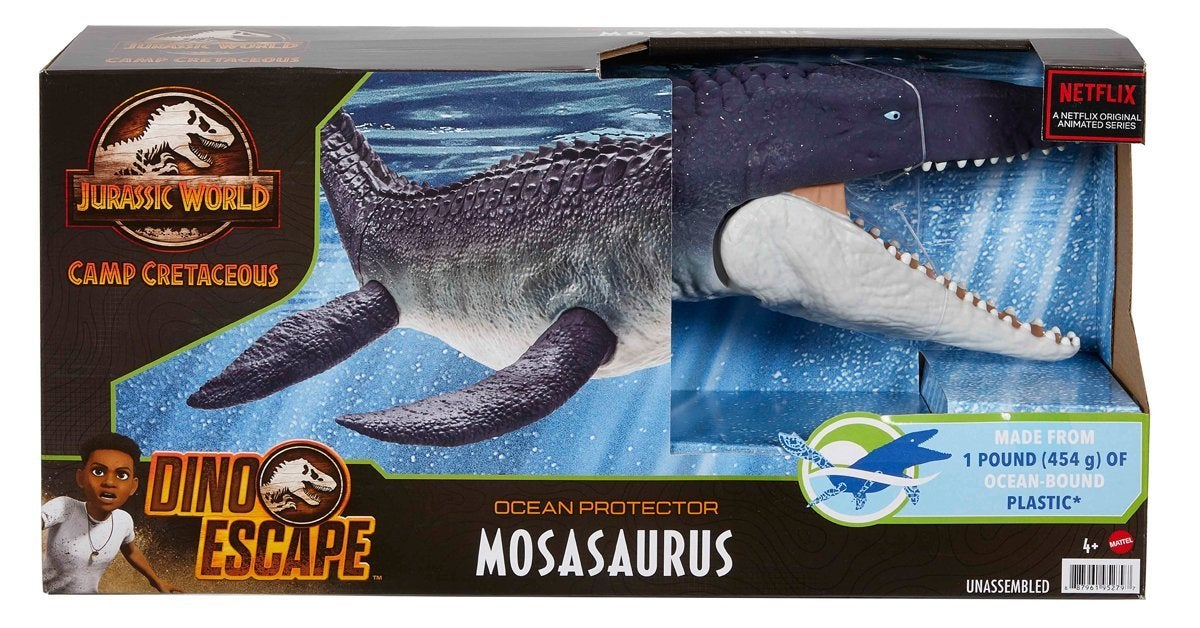 jurassic world camp cretaceous mosasaurus