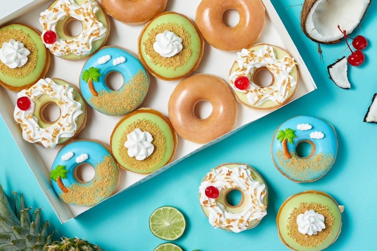 krispy kreme island time doughnuts