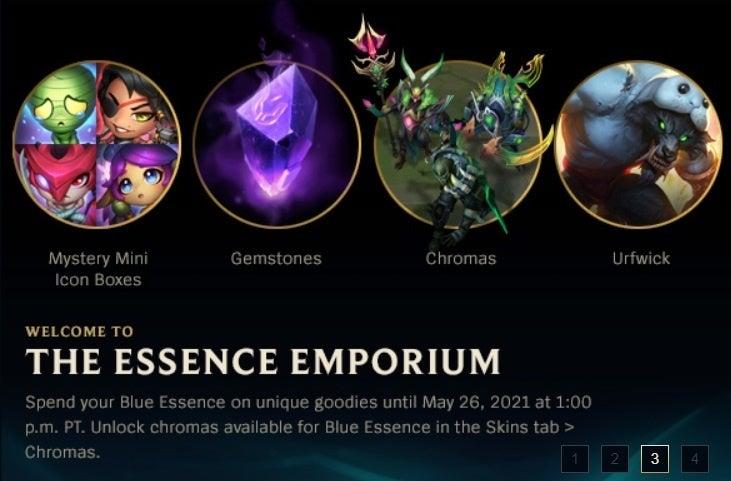 League of Legends Essence Emporium