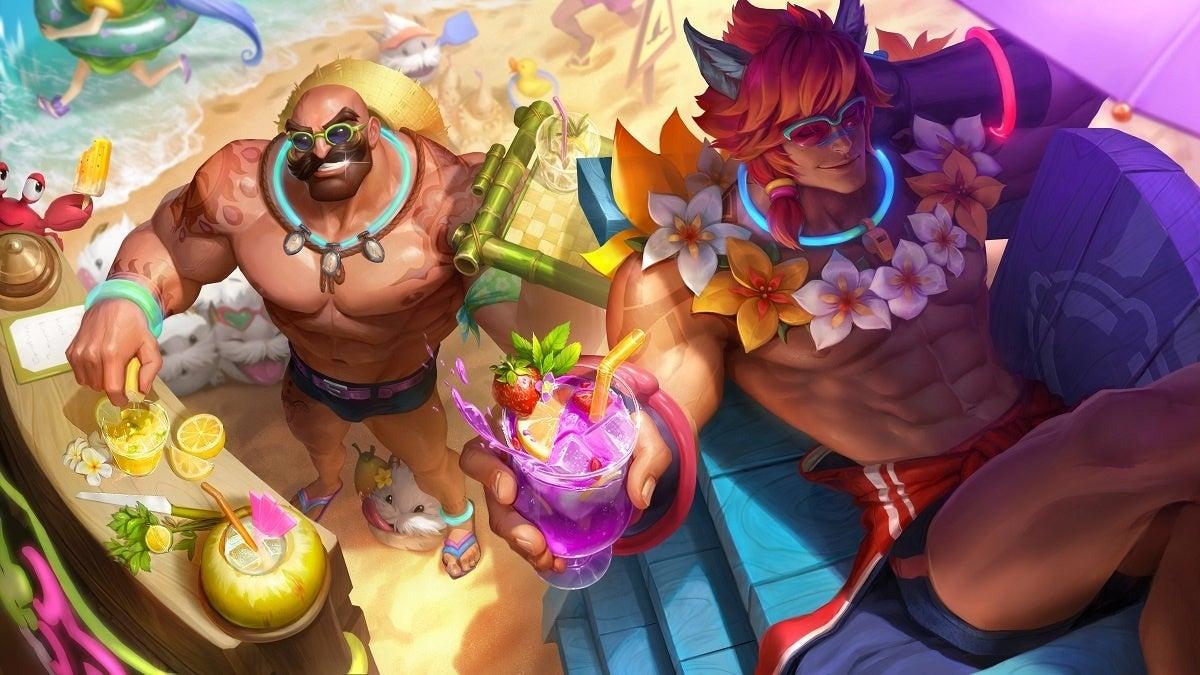 League of Legends Pool Party