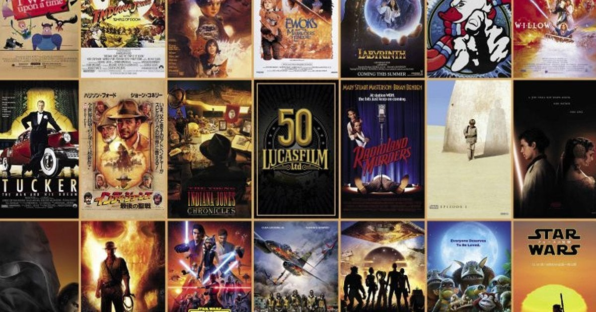 lucasfilm 50th anniversary poster d23