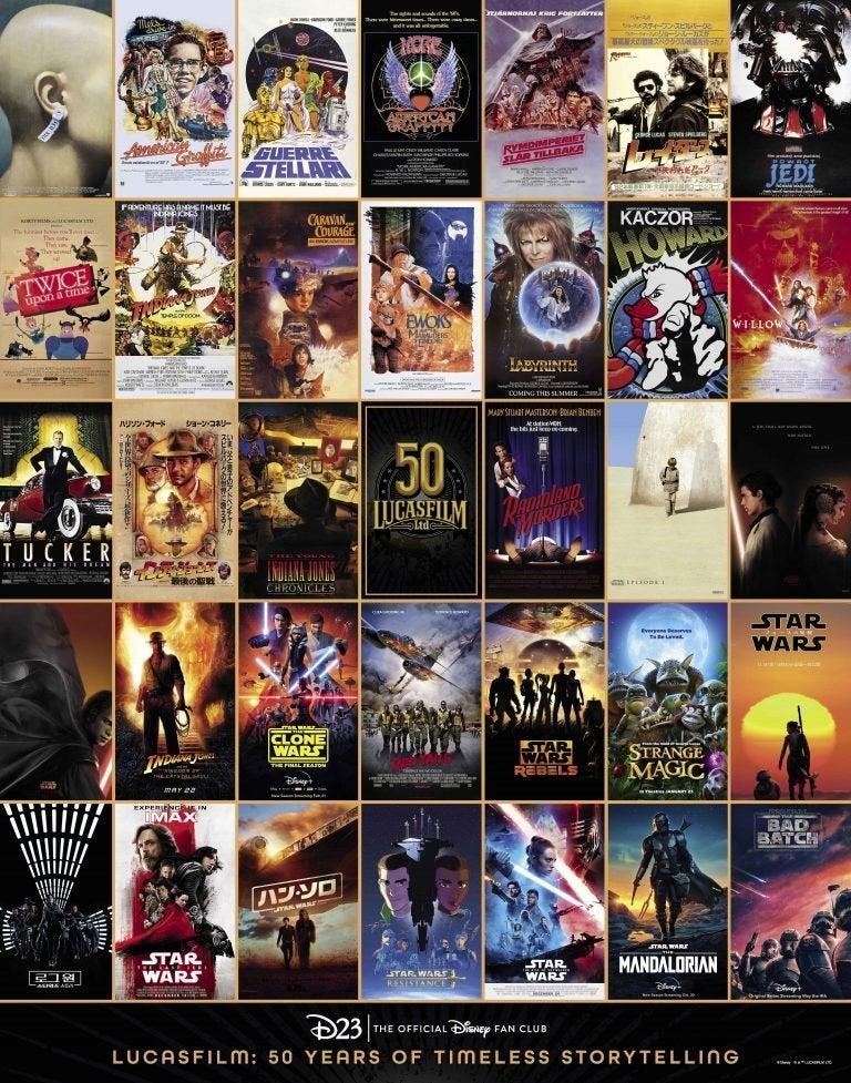 lucasfilm poster d23 exclusive star wars indiana jones