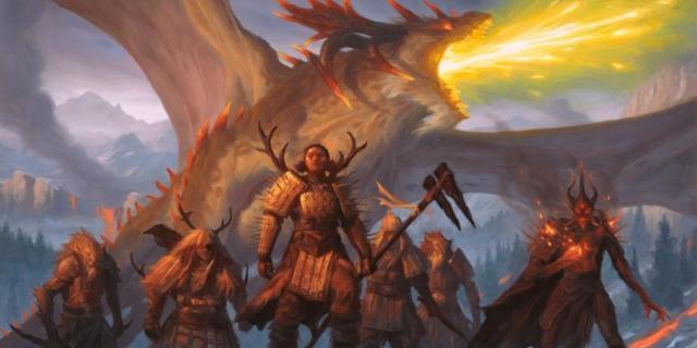 Magic Arena MTGA Historic Anthology V Atarka's Command