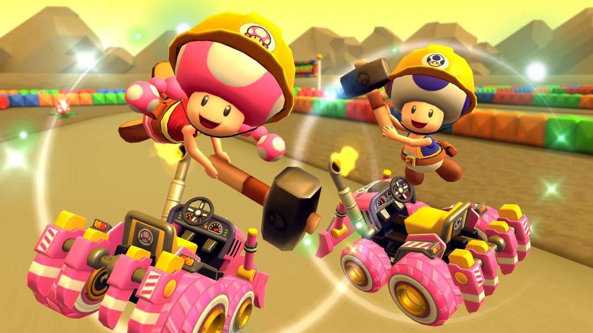 Mario Kart Tour Toadette