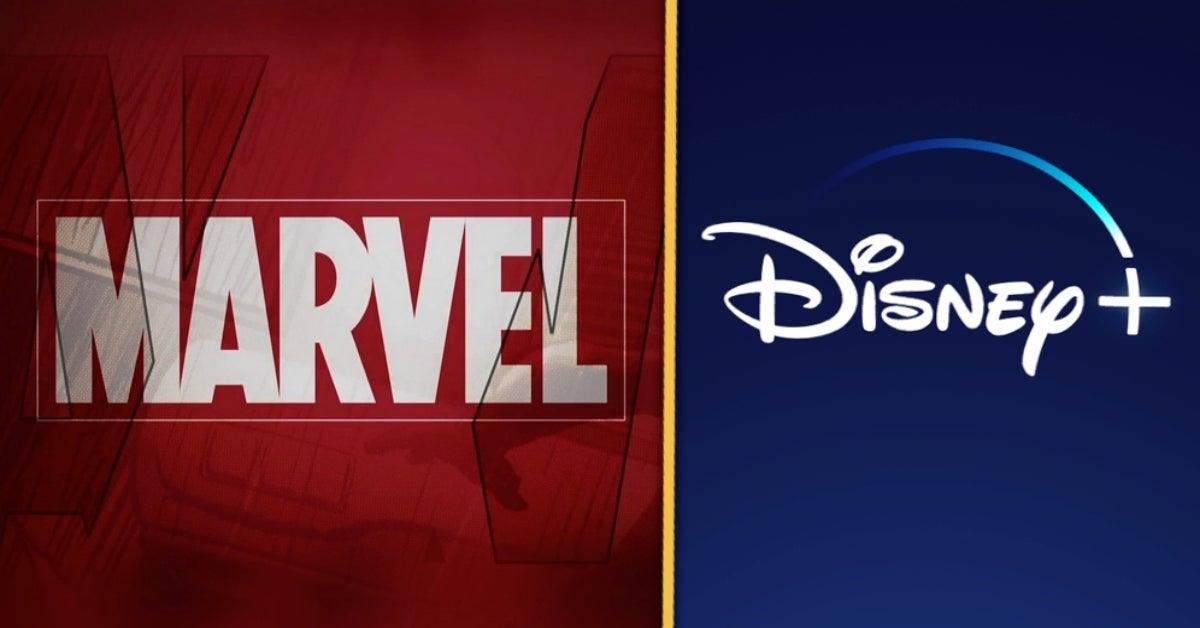 Marvel Disney+ logo