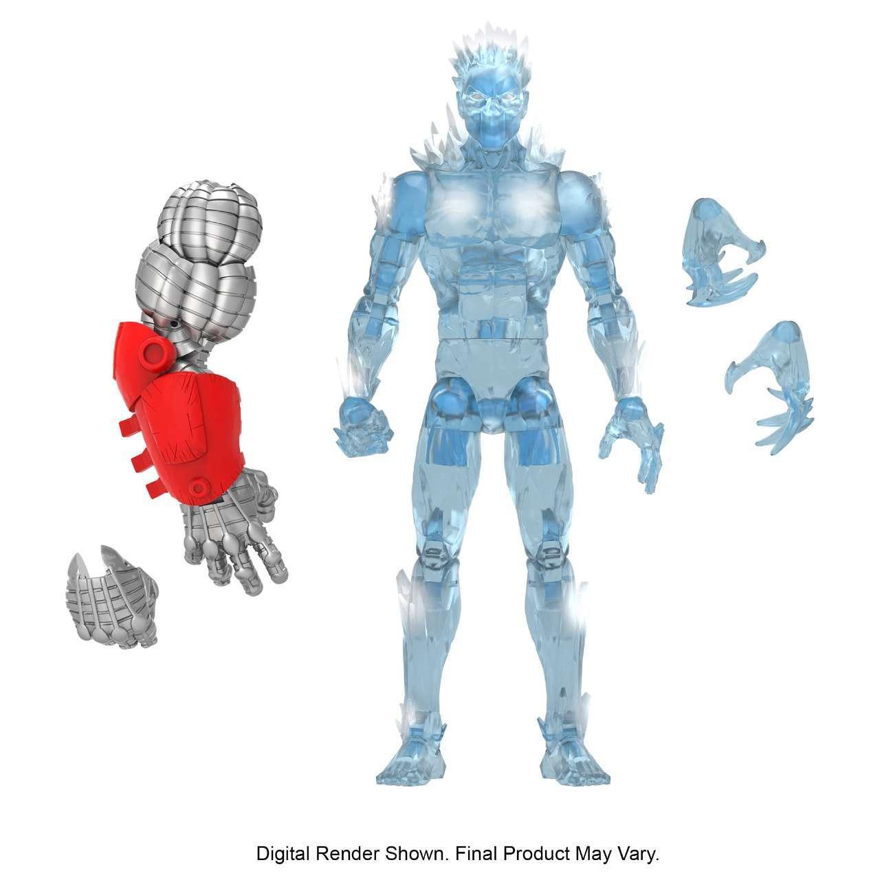 MARVEL LEGENDS SERIES 6-INCH X-MEN AGE OF APOCALYPSE Figure Assortment - ICEMAN (oop 1)
